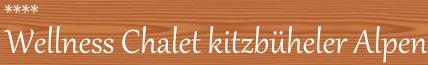 Chalet Kitzbüheler Alpen Logo