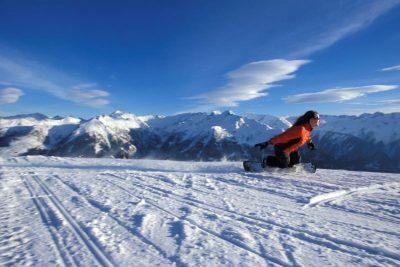 Snow Board fahren